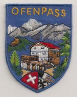 Ref ENV20 : Ecusson Blason Brodé Patch Tissu : Suisse Offenpass - Ecussons Tissu
