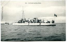 Bateaux De Guerre - édités à Port-Louis - Lot De 2 CPA - Voir Détails Dans La Description - Guerra