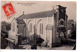 Ref 564 : CPA 24 Montignac Sur Vezere La Grande Eglise - Autres Communes