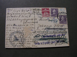 Haderslev , Card 1946  Lager Post Hadersleben - Brieven En Documenten