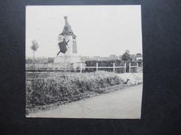 Feldpost 1.WK 22.9.1918 Halbe Foto AK Violetter FP Stempel Gruppen Nachrichten Kompagnie An Einen Flieger Fea 6 - Covers & Documents
