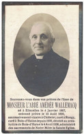 L'ABBE AMEDEE WALLEMACQNE A ELLEZELLES 1867 ORDONNE PRETRE 1890 SUCCESSIVEMENT VICAIRE A CHATELET CURE A RONGY ETC - Décès