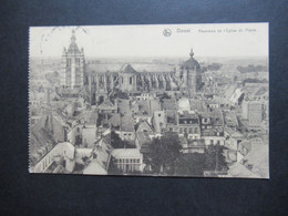 Feldpost AK 1.WK 1917 Frankreich Douai Panorama Stempel S.B. III. B. J. R. No. 85 Nach Kiel Gesendet - Covers & Documents