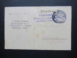 Militär PK Feldpost AK 1.WK 1915 Goldberg Schlesien L3 Soldatenbrief Batailon Fusilier Von Steinmetz (Westpreussen) - Covers & Documents