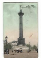 Place De La Bastille Colonne De Juillet Une Calèche 361 ELD Paris E LE DELEY - Arrondissement: 04