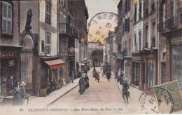 Clermont Ferrand Rue Notre Dame Du Port Couleur - Clermont Ferrand