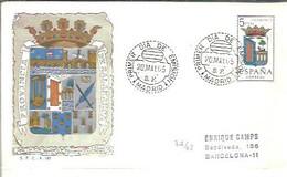 ESCUDO 1965   SALAMANCA  CERTIFICADO - FDC