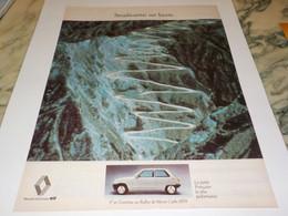 ANCIENNE PUBLICITE AUTOMOBILE RENAULT R 5  1979 - Cars