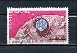 Timbre Oblitére De Polynésie Francaise  1962 Poste Aérienne - Usati