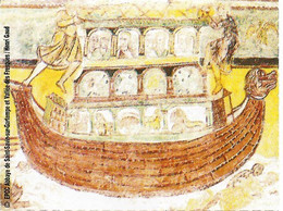 Ticket D'entrée - Abbaye De Saint-Savin [sur Gartempe] (86) - Ill. : Fresque = Arche De Noë - Tickets - Vouchers