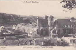 55 - MEUSE - SAINT-MIHIEL - L'ABSIDE DE L'EGLISE - LA DIVISION - Saint Mihiel