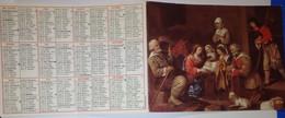 Petit Calendrier 1986 Religieux - Procure Missionnaire De L'Assomption  - Adoration Des Bergers - Small : 1981-90