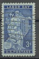 Etats Unis - Vereinigte Staaten - USA 1956 Y&T N°619 - Michel N°704 (o) - 3c Journée Du Travail - Gebruikt