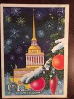 Cpm C HoBbim RoAom! Russie 1976, Illustration Peintre Художник  пегов Pegov ( Bonne Année -Happy New Year!) - New Year
