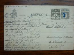 1919   COPENHAGEN     PERFECT - Brieven En Documenten