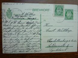 1920  BREVKORT     PERFECT - Brieven En Documenten