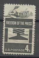 Etats Unis - Vereinigte Staaten - USA 1958 Y&T N°652 - Michel N°738 (o) - 4c Presse D'imprimerie - Gebruikt