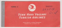 TURKISH   AIRLINES  TICKET - Tickets