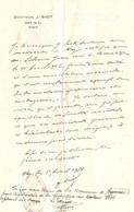 Certificat Du Docteur J. Siot à Nay (64), 1931, Signature Du Maire Larrousse, Cachet Consulat Argentin De Pau + Timbres - Documents Historiques