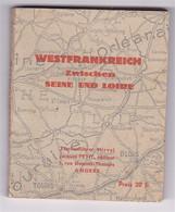 Petit Guide Val De Loire Westfrankreich Zwischen Seine Und Loire, Jacques Petit, édit. Angers, 1940 - France