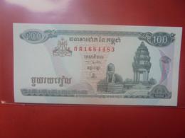 CAMBODGE 100 RIELS Peu Circuler/Neuf (B.23) - Kambodscha