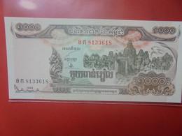 CAMBODGE 1000 RIELS 1999 Peu Circuler/Neuf (B.23) - Kambodscha