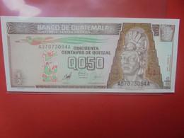 GUATEMALA 1/2 QUETZAL 1998 Peu Circuler/Neuf (B.23) - Guatemala