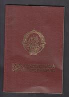 YUGOSLAVIA, REPUBLIC OF MACEDONIA, PASSPORT  + - Documents Historiques