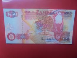 ZAMBIE 50 KWACHA 2003 Peu Circuler/Neuf (B.23) - Zambia