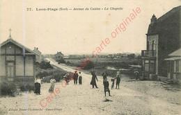 59.  LOON PLAGE .  Avenue Du Casino .  La Chapelle .  CPA Animée . - Other Municipalities