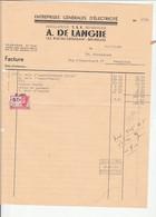 FOREST DE LANGHE ELECTRICITE - 1900 – 1949