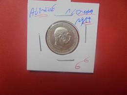 AUTRICHE 1 CORONA 1912 ARGENT (A.1) - Austria