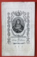 Anno 1835 Doodsprentje Décés - MARIA BAERT - ELST - ST. GOORIX AUDENHOVE - ST. GORIKS - Devotieprenten