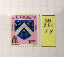 JERSEY SG261  MNH - Other