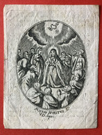 Anno 1831 Doodsprentje Décés - MARIA VAN HOOF Huysvrouw UYTTENBROECK - KONTICH - LIER - Andachtsbilder