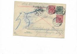 Karte Aus Nebra Nach Magdeburg 1897 - Covers & Documents