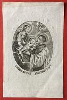 Anno 1843 Doodsprentje Décés - GMUS. VAN DEN BOSCH Wed BOGAERTS - KAPELLEN - Devotieprenten