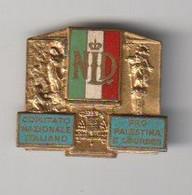 Medaille Comitato Nationale Italiano - Pro Palestina E Lourdes - Other
