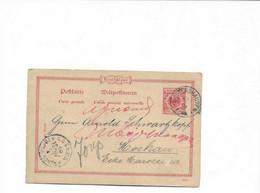 Karte Aus Waltershausen Nach Moskau 1897 - Covers & Documents
