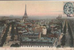 Cartolina - Postcard /  Viaggiata - Sent /  Parigi - Panorama. - Cartas Panorámicas