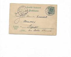 Doppelkarte Aus Berlin Nach Siegenfeld 1896 - Covers & Documents