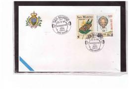 TEM14587  -   SAN MARINO  25.5.1996    /    INAUGURAZIONE DELLA NUOVA FUNIVIA - Zonder Classificatie