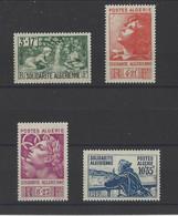 ALGERIE. YT   N° 249/252   Neuf *   1946 - Ongebruikt