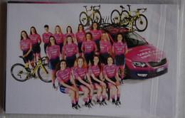 CYCLISME: CYCLISTE : EQUIPE FEMININE VALCAR 2021 COMPLETE - Cycling