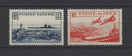 ALGERIE. YT   N° 273/274   Neuf **   1949 - Ongebruikt