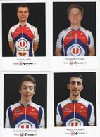 CYCLISME: CYCLISTE : EQUIPE TEAM U CUBE 17    2021 COMPLETE - Cycling