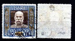 Austria-DB 2- Emissione 1908 (o) Used - Qualità A Vostro Giudizio. - Gebruikt