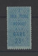 ALGERIE. YT  Colis Postaux N° 6   Neuf *   1920 - Paketmarken