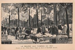 Cartolina - Postcard / Non Viaggiata - Unjsent /  Parigi - La Borsa Di Filatelia 1941 - Beursen Voor Verzamellars
