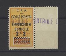 ALGERIE. YT  Colis Postaux N° 82   Neuf **   1941 - Paketmarken